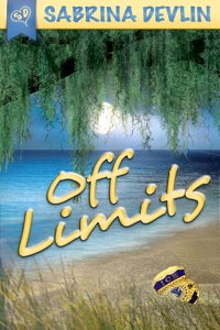 "Book cover for new novel ""Off Limits"" by Sabrina Devlin"